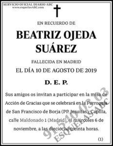 Beatriz Ojeda Suárez
