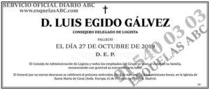 Luis Egido Gálvez