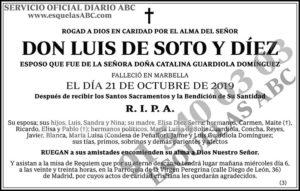 Luis de Soto y Díez