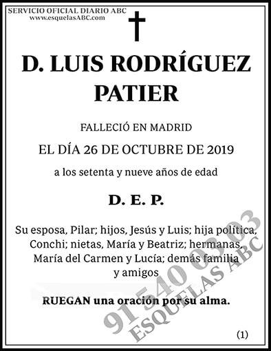 Luis Rodríguez Patier