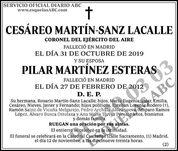 Cesáreo Martín-Sanz Lacalle
