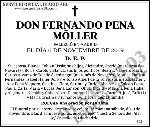 Fernando Pena Möller