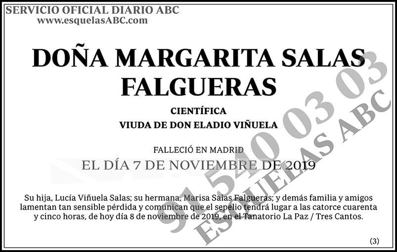 Margarita Salas Falgueras