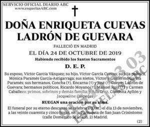 Enriqueta Cuevas Ladrón de Guevara