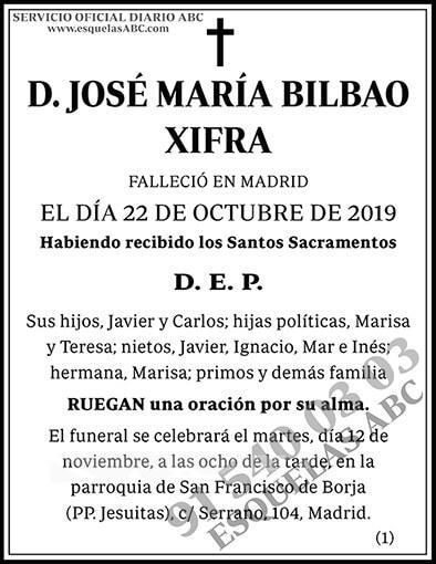 José María Bilbao Xifra