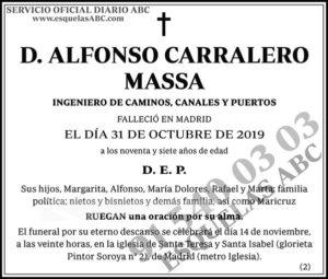 Alfonso Carralero Massa