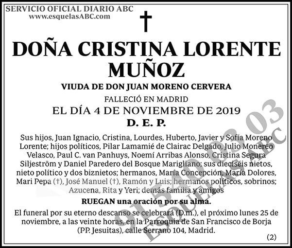 Cristina Lorente Muñoz