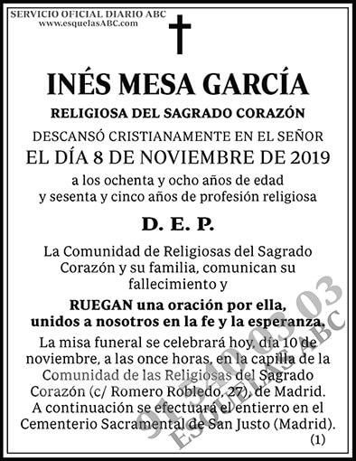 Inés Mesa García