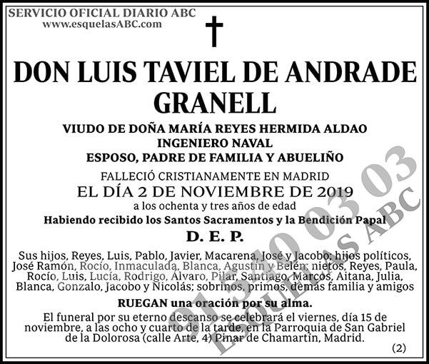 Luis Taviel de Andrade Granell