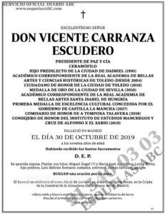 Vicente Carranza Escudero