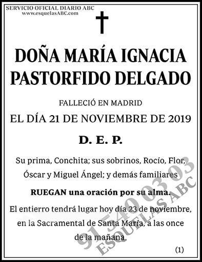 María Ignacia Pastorfido Delgado