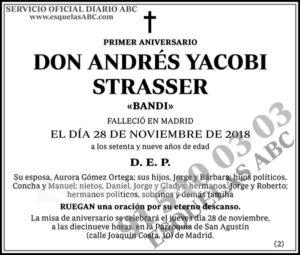 Andrés Yacobi Strasser