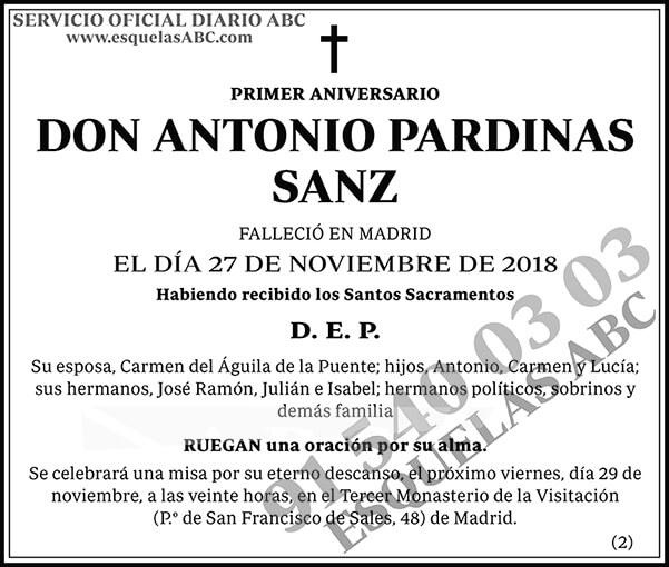 Antonio Pardinas Sanz
