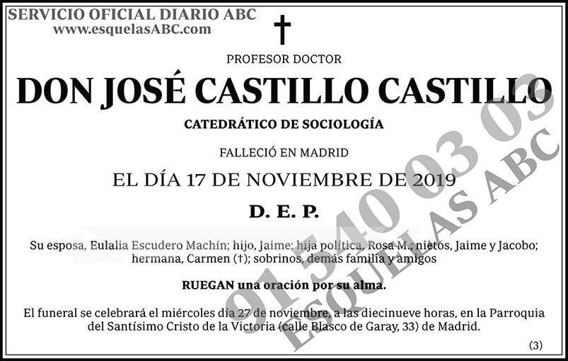 José Castillo Castillo