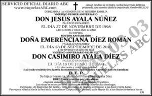 Jesús Ayala Núñez