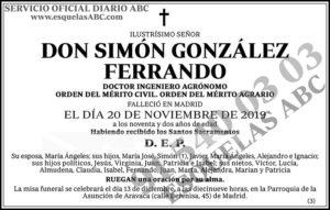 Simón González Ferrando