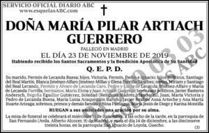 María Pilar Artiach Guerrero