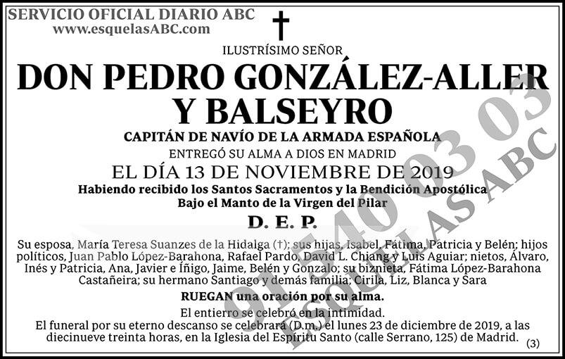 Pedro González-Aller y Balseyro