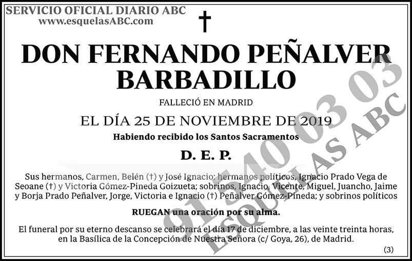Fernando Peñalver Barbadillo