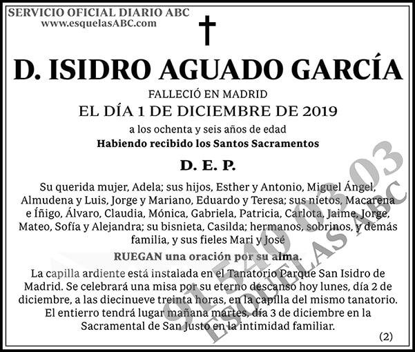 Isidro Aguado García