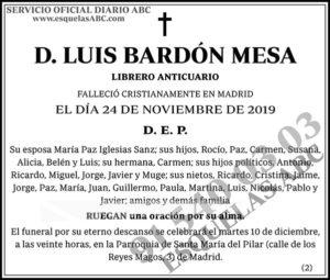 Luis Bardón Mesa