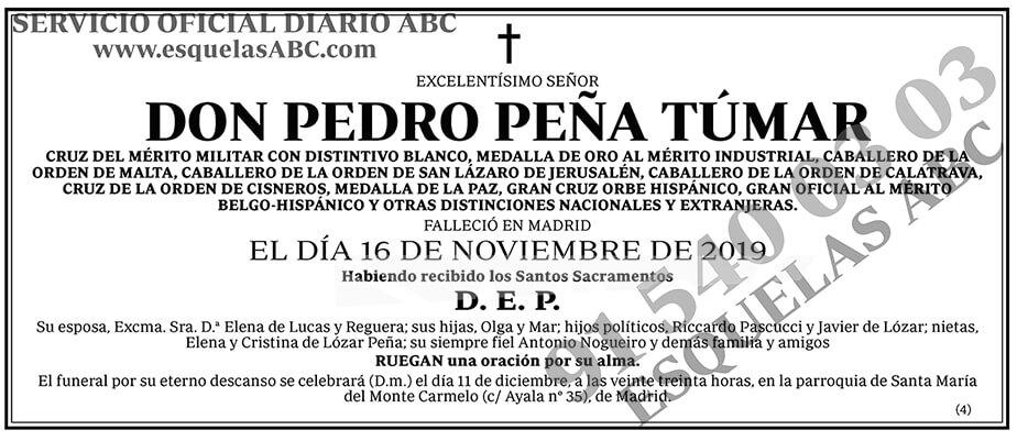 Pedro Peña Túmar