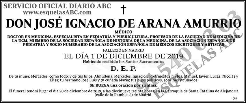 José Ignacio de Arana Amurrio