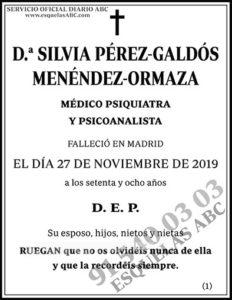 Silvia Pérez-Galdós Menéndez-Ormaza
