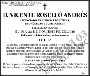 Vicente Roselló Andrés