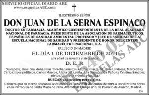 Juan de la Serna Espinaco