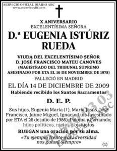 Eugenia Istúriz Rueda