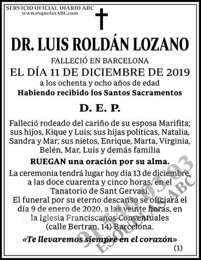 Luis Roldán Lozano