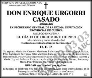 Enrique Urgorri Casado