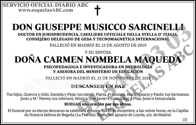 Giuseppe Musicco Sarcinelli