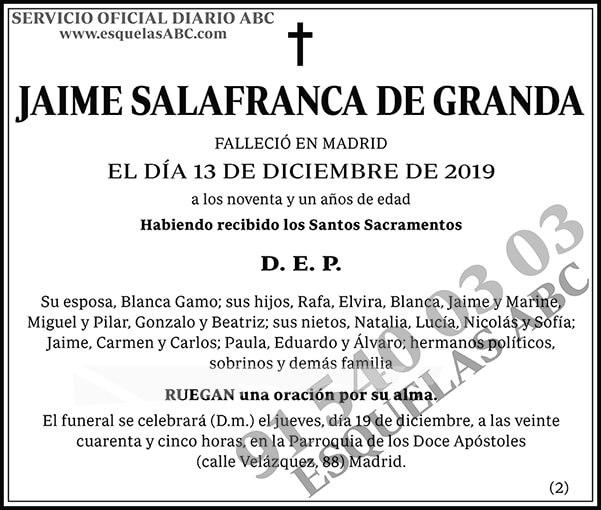 Jaime Salafranca de Granda