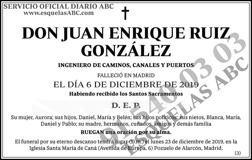 Juan Enrique Ruiz González