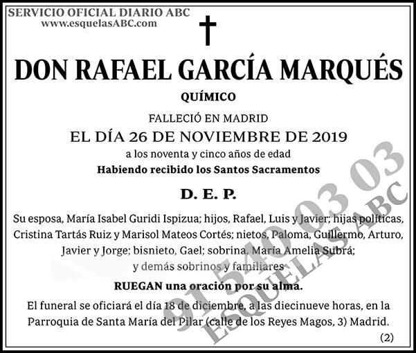 Rafael García Marqués