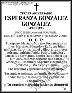 Esperanza González González