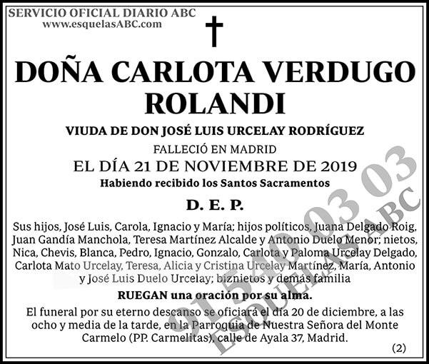 Carlota Verdugo Rolandi