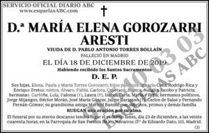 María Elena Gorozarri Aresti