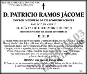 Patricio Ramos Jácome