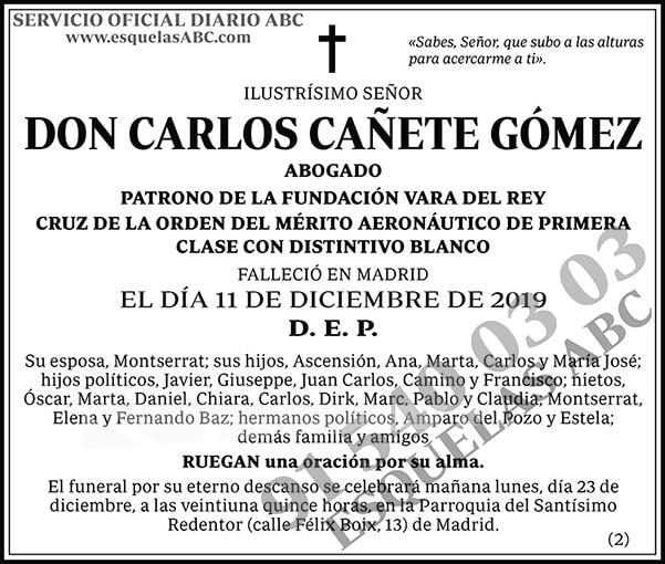 Carlos Cañete Gómez