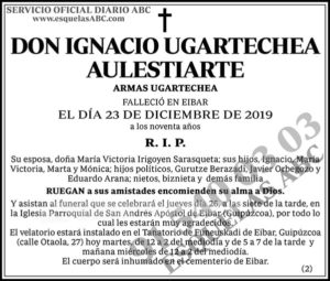 Ignacio Ugartechea Aulestiarte