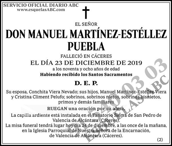 Manuel Martínez-Estéllez Puebla