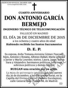 Antonio García Bermejo