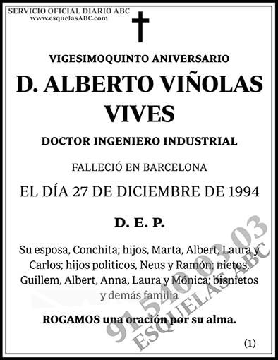 Alberto Viñolas Vives