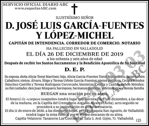 José Luis García-Fuentes y López-Michel
