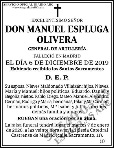 Manuel Espluga Olivera