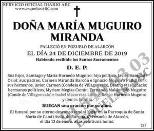 María Muguiro Miranda