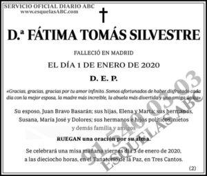 Fátima Tomás Silvestre